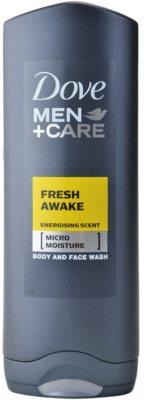 Dove Men+Care Fresh Awake gel de duche