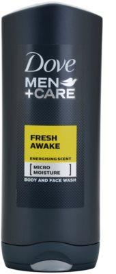 Dove Men+Care Fresh Awake Gel de duș pentru față și corp