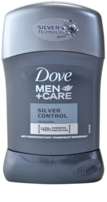 Dove Men+Care Silver Control твердий антиперспірант 48 годин
