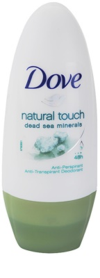 Dove Natural Touch antitranspirante roll-on