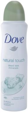 Dove Natural Touch desodorante antitranspirante en spray