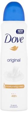 Dove Original desodorizante antitranspirante em spray 48 h