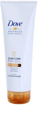 Dove Advanced Hair Series Pure Care Dry Oil kondicionér pro suché a matné vlasy
