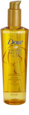 Dove Advanced Hair Series Pure Care Dry Oil óleo nutritivo  para cabelo