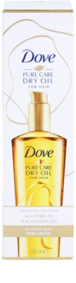 Dove Advanced Hair Series Pure Care Dry Oil hranilno olje za lase 2