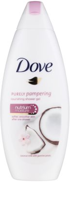 Dove Purely Pampering Coconut Milk nährendes Duschgel