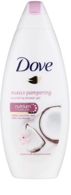Dove Purely Pampering Coconut Milk поживний гель для душу