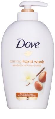 Dove Purely Pampering Shea Butter sabonete líquido com doseador