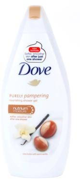 Dove Purely Pampering Shea Butter gel de banho nutritivo