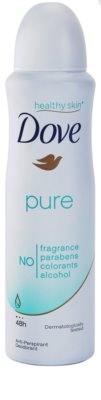 Dove Pure dezodorant antiperspirant v spreji