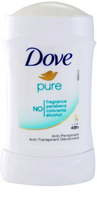 Dove Pure antitranspirantes 1
