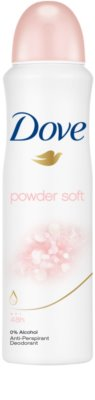 Dove Powder Soft antitranspirante em spray
