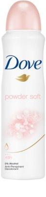 Dove Powder Soft антиперспирант-спрей