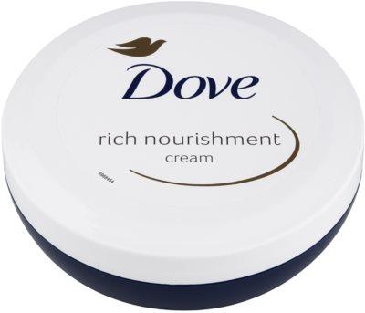 Dove Rich Nourishment creme corporal nutritivo com efeito hidratante