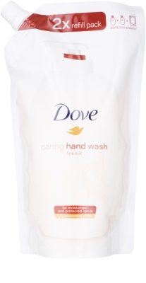 Dove Silk Fine flüssige Seife für die Hände Ersatzfüllung