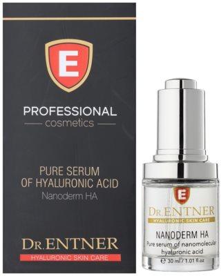 Dr. Entner Nanoderm HA ser hidratant si de de curatare profunda impotriva imbatranirii 1