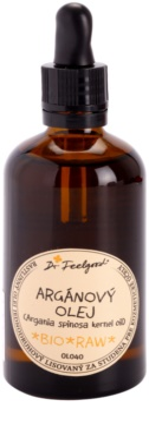 Dr. Feelgood BIO and RAW ulei de argan cosmetic pe fata , corp si par