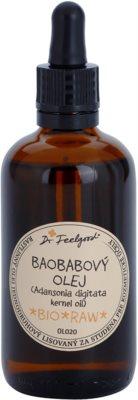 Dr. Feelgood BIO and RAW aceite de baobá para pieles muy secas