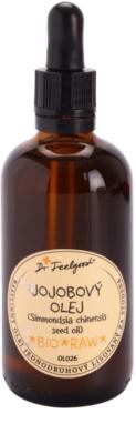 Dr. Feelgood BIO and RAW Jojobaöl für alle Hauttypen, selbst für empfindliche Haut