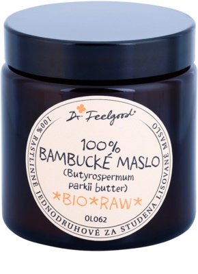 Dr. Feelgood BIO and RAW bambucké maslo