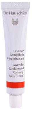 Dr. Hauschka Body Care beruhigende Bodycreme  mit Lavendel und Sandelholz