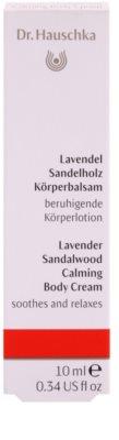 Dr. Hauschka Body Care beruhigende Bodycreme  mit Lavendel und Sandelholz 2
