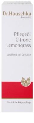 Dr. Hauschka Body Care testápoló olaj citrommal és citromfűvel 3