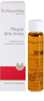 Dr. Hauschka Body Care testápoló olaj nyír-árnika 2