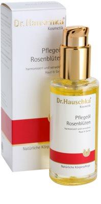 Dr. Hauschka Body Care óleo corporal de rosas 1