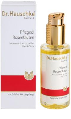 Dr. Hauschka Body Care óleo corporal de rosas 2