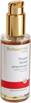 Dr. Hauschka Body Care óleo corporal de amêndoas e erva-de-são-joão