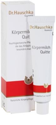 Dr. Hauschka Body Care Körpermilch aus Quitten 1