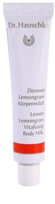Dr. Hauschka Body Care leite corporal com limão e capim-limão