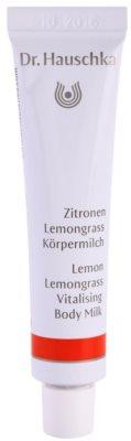 Dr. Hauschka Body Care tělové mléko s citronem a citronovou trávou