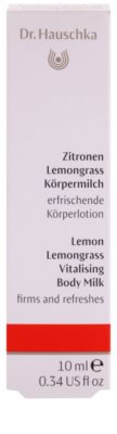 Dr. Hauschka Body Care tělové mléko s citronem a citronovou trávou 2