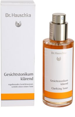 Dr. Hauschka Cleansing And Tonization озаряващ тоник 2
