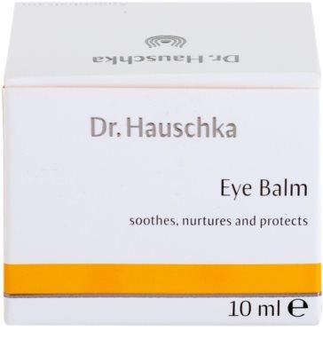 Dr. Hauschka Eye And Lip Care bálsamo nutritivo para contorno de ojos 4