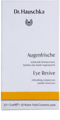 Dr. Hauschka Eye And Lip Care osvežilni obkladki za utrujene oči 3