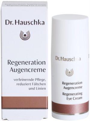 Dr. Hauschka Facial Care creme regenerador   para o contorno dos olhos 3