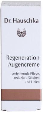 Dr. Hauschka Facial Care creme regenerador   para o contorno dos olhos 4