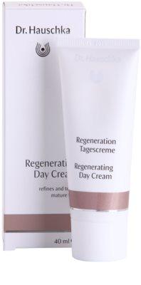Dr. Hauschka Facial Care crema de zi regeneratoare pentru ten matur 1