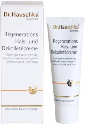 Dr. Hauschka Facial Care відновлюючий крем для шиї та декольте 2