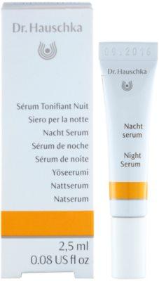 Dr. Hauschka Facial Care sérum de noite revitalizante 1