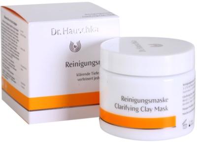 Dr. Hauschka Facial Care máscara facial de limpeza iluminadora de barro 1