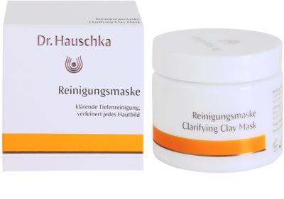 Dr. Hauschka Facial Care máscara facial de limpeza iluminadora de barro 2