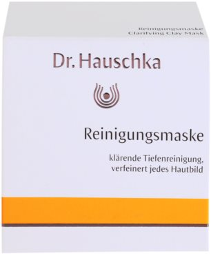 Dr. Hauschka Facial Care máscara facial de limpeza iluminadora de barro 4