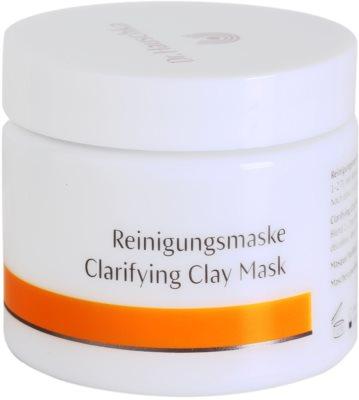 Dr. Hauschka Facial Care čisticí a rozjasňující pleťová maska z jílu