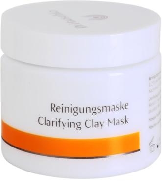 Dr. Hauschka Facial Care čistilna in posvetlitvena maska za obraz iz ilovice