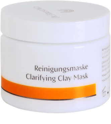 Dr. Hauschka Facial Care mascarilla facial limpiadora e iluminadora de arcilla