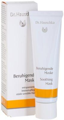 Dr. Hauschka Facial Care zklidňující maska pro citlivou a podrážděnou pleť 1